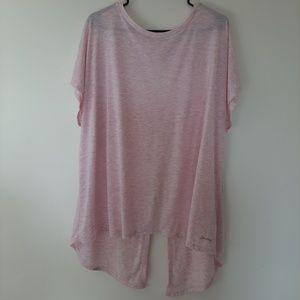 Womens light pink  Spalding top plus size 2x
